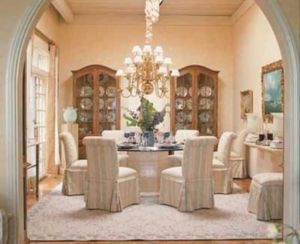 romantic dining room 416_Decor