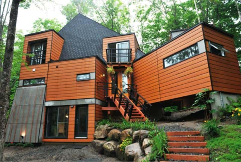 affordable shipping container house architecture decorating ideas
