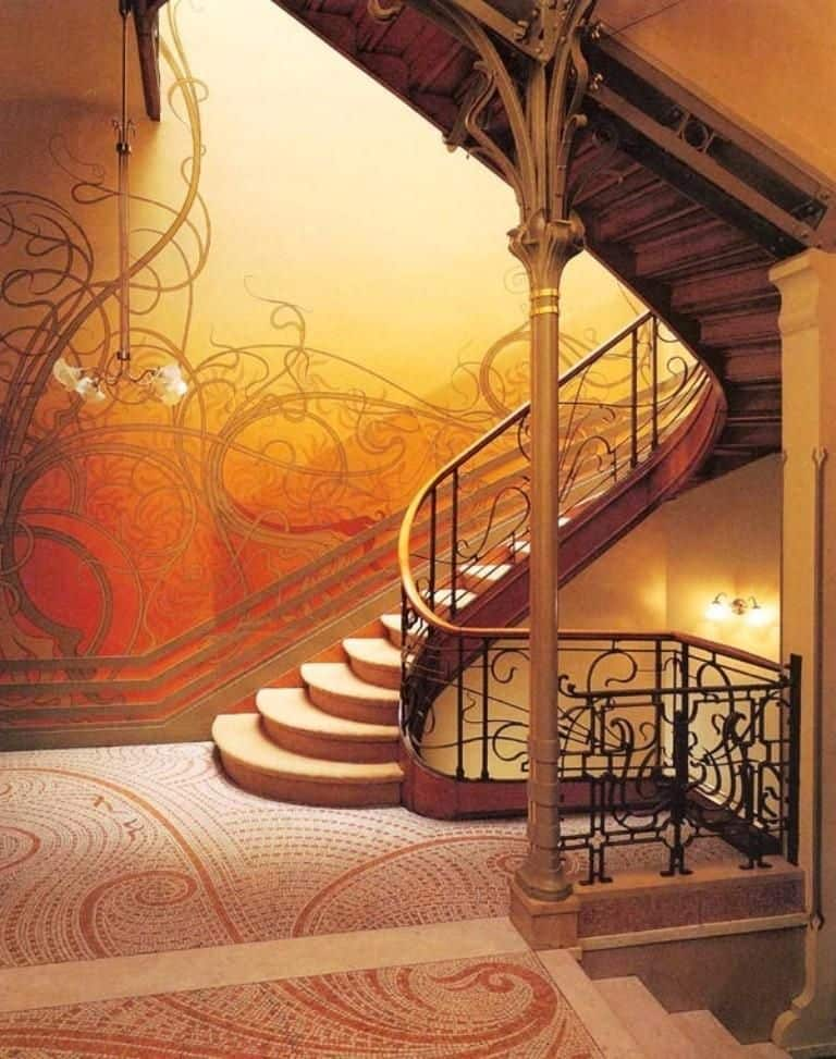 Art Nouveau Decorating Style137Ideas