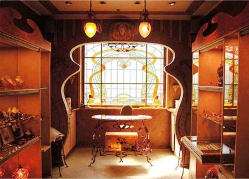 Architecture decor interior decorating for Art nouveau decorating ideas