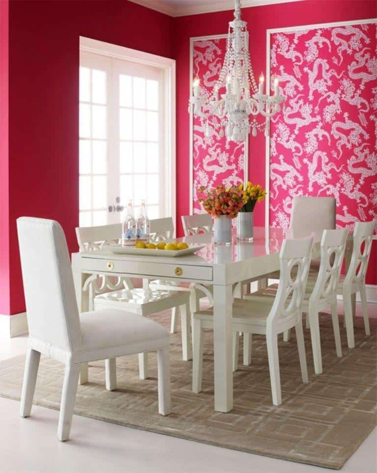 Bright Dining Room_991Designs
