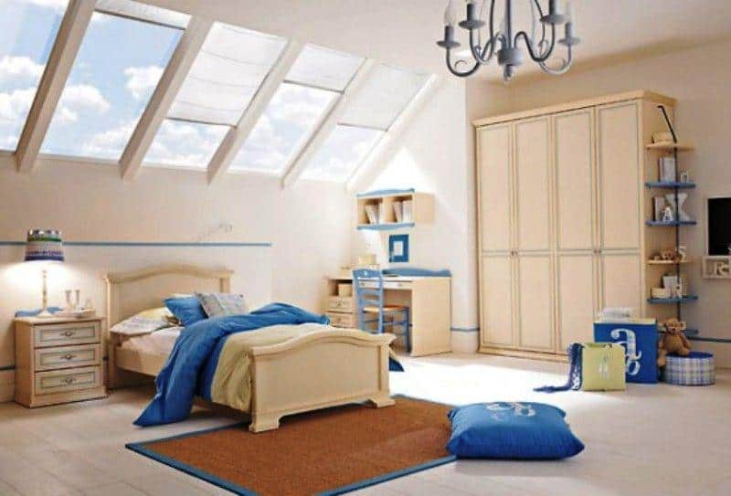 Classic Kids Room_a63Designs