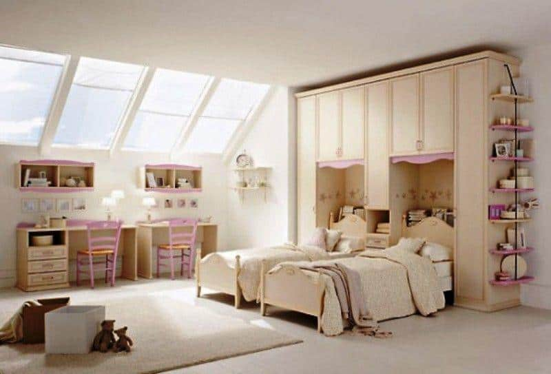 Classic Kids Room_a66Designs
