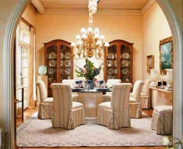 Dining room decor architecture decorating ideas for Formal dining room ideas