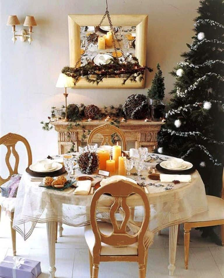Dining Room Christmas Decor_974Ideas