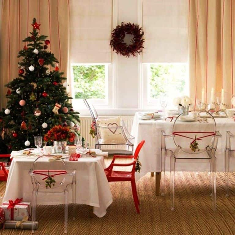 Dining Room Christmas Decor_977Ideas