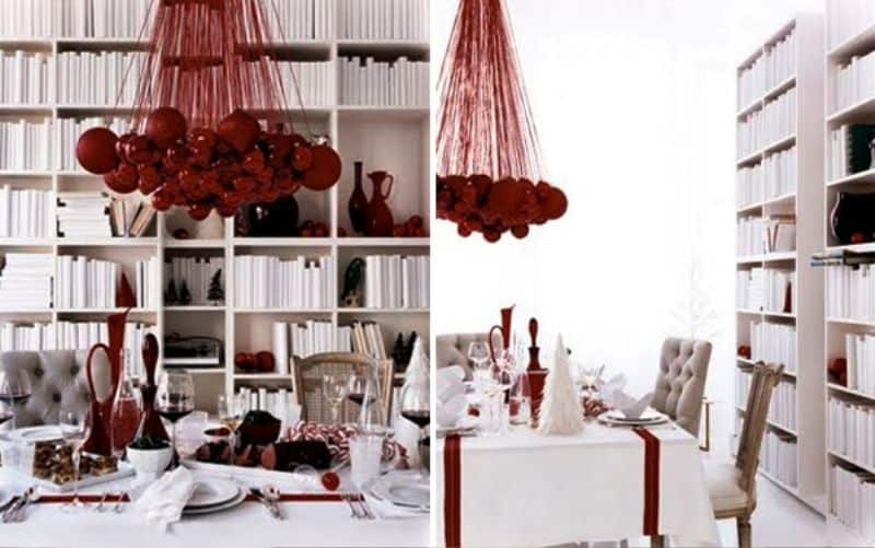 Dining Room Christmas Decor_980Ideas