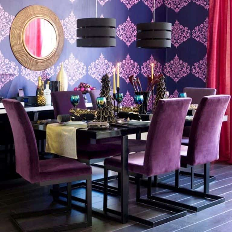 Dining Room Christmas Decor_981Ideas