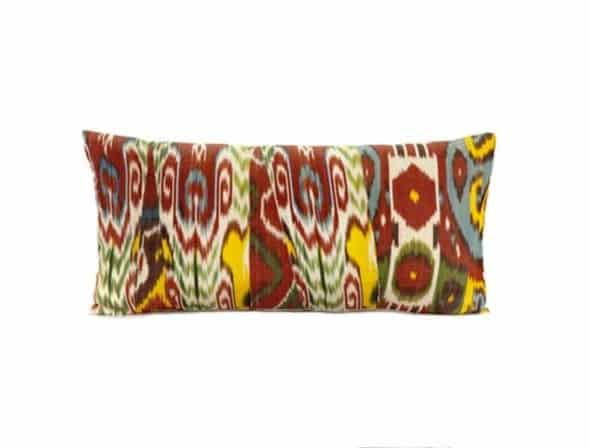 Uzbek ikat pillows