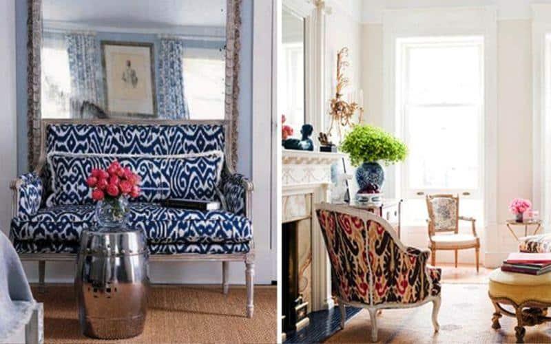 Exotic Ikat Pattern in Interior Design179Ideas
