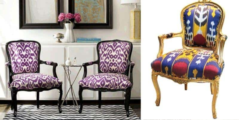 Exotic Ikat Pattern in Interior Design180Ideas