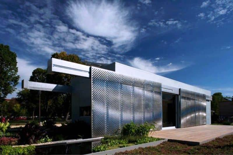 Green House Solar Declothlon246 Architecture