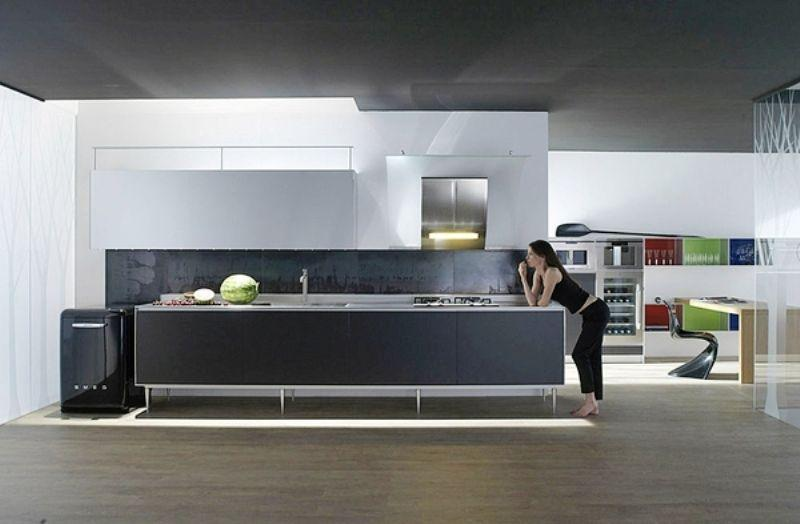 Hi-tech Kitchen_a17Designs
