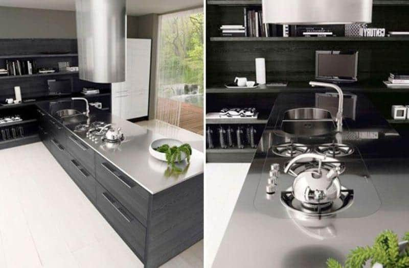 Hi-tech Kitchen_a18Designs