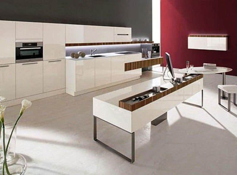 Hi tech Kitchena20Designs Architecture Decorating Ideas