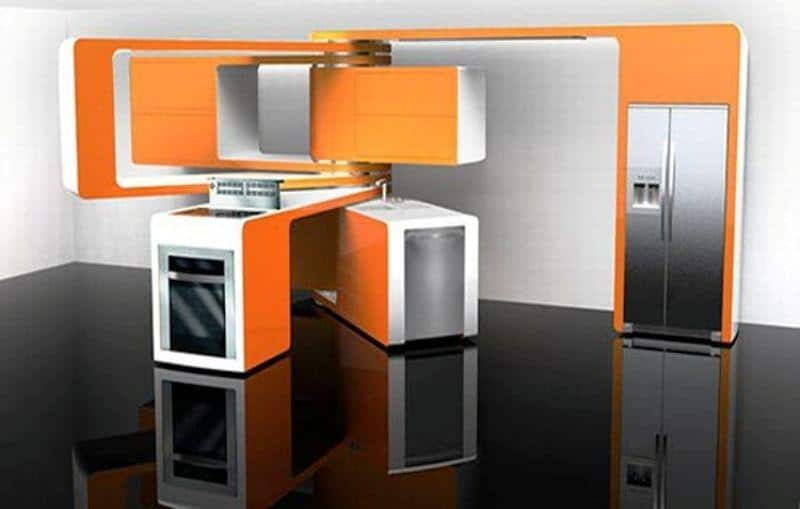 Hi-tech Kitchen_a22Designs