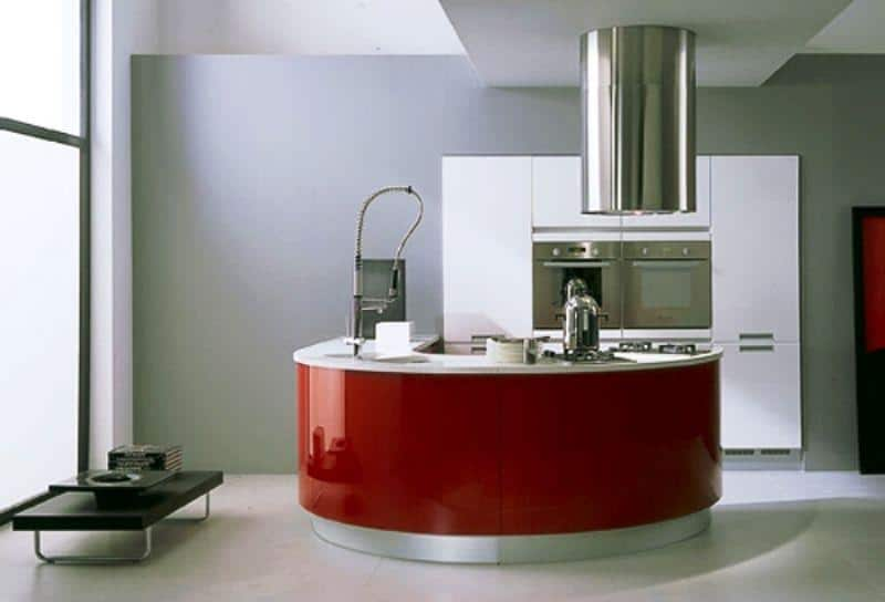 Hi-tech Kitchen_a23Designs