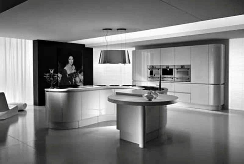 Hi-tech Kitchen_a36Designs