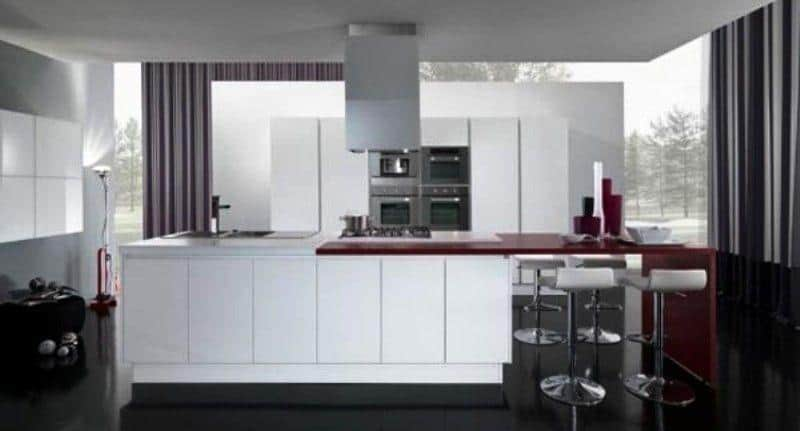 Hi-tech Kitchen_a41Designs