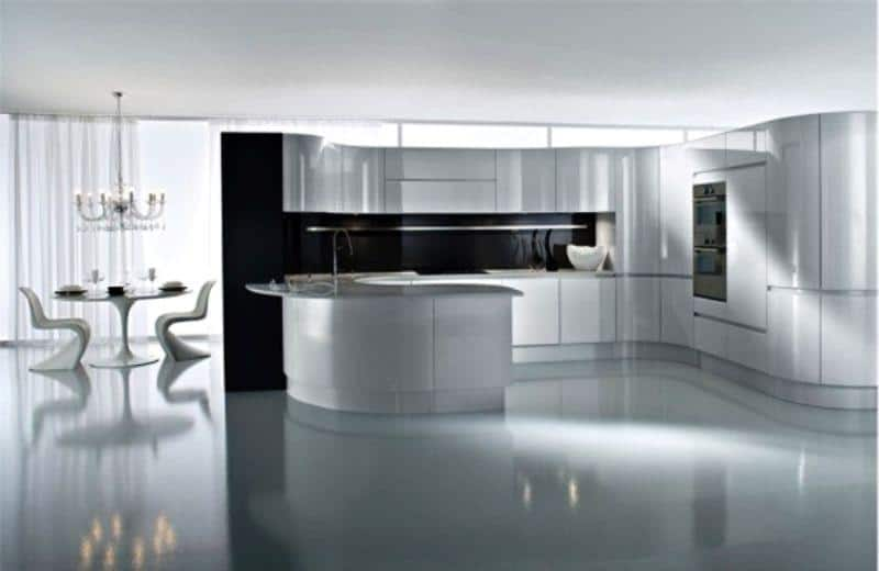 Hi-tech Kitchen_a45Designs