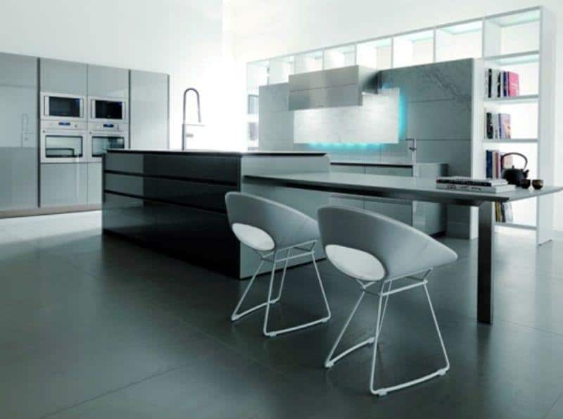 Hi-tech Kitchen_a48Designs