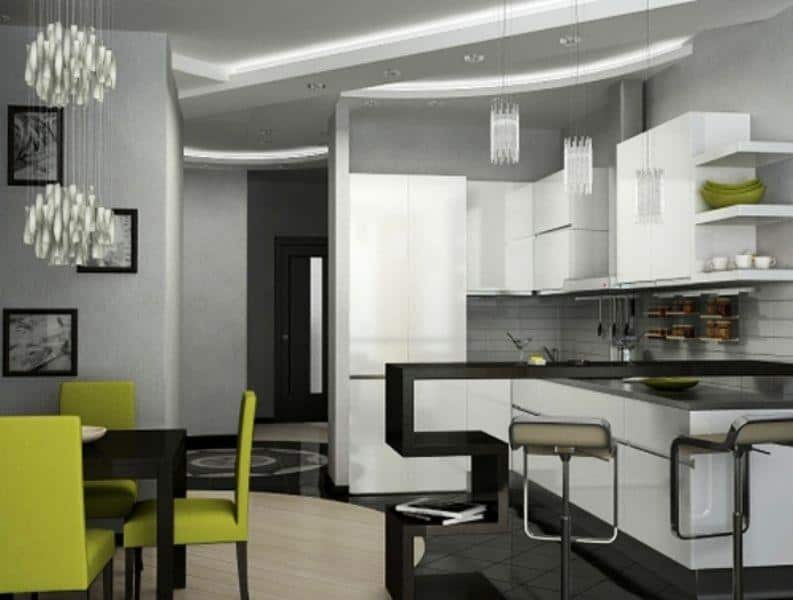 Hi-tech Kitchen_a49Designs