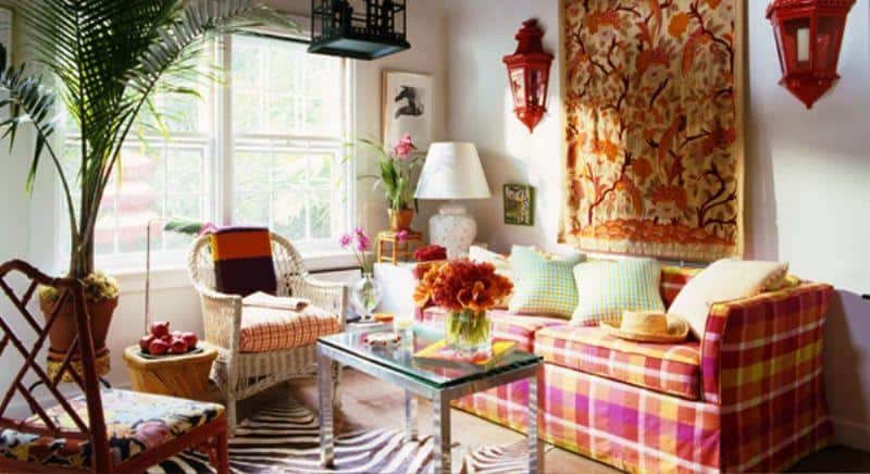 Liven Up Your Home Decor With Patterns And Prints191Ideas