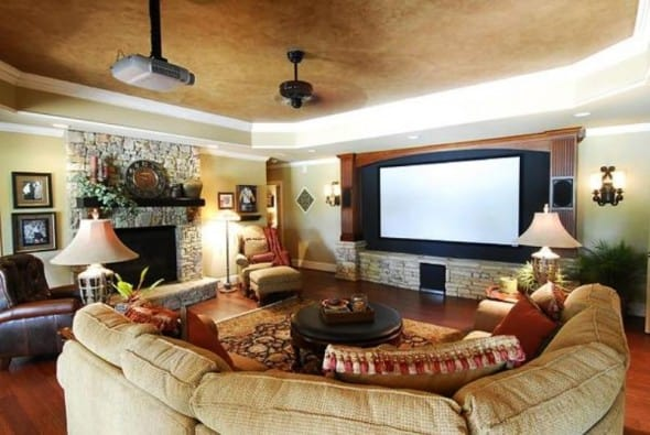 Living room furniture sets decorating design ideas for Living room theater