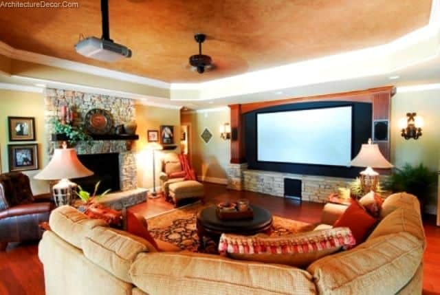 Living Room Theater Architecture Decorating Ideas Mesmerizing Living Room Theatre