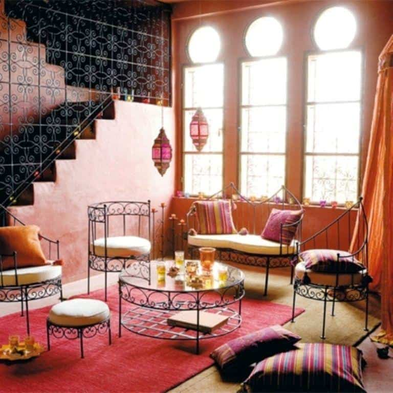 Moroccan Decorating Style147Ideas