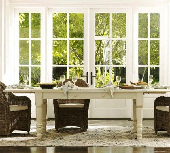 Norfolk Dining Table by Pottery Barn