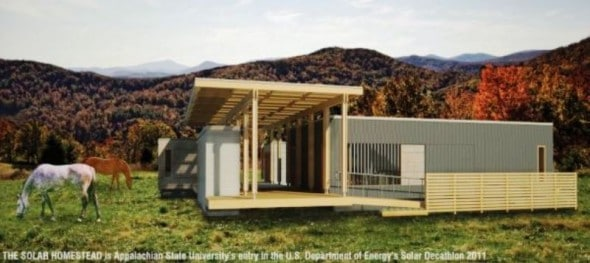 Solar Homestead By Appalachian State University250 Architecture
