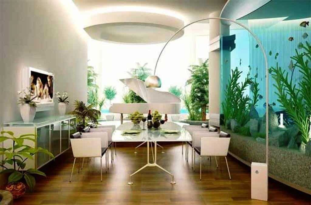 Architecture decor interior decorating for Cool dining rooms
