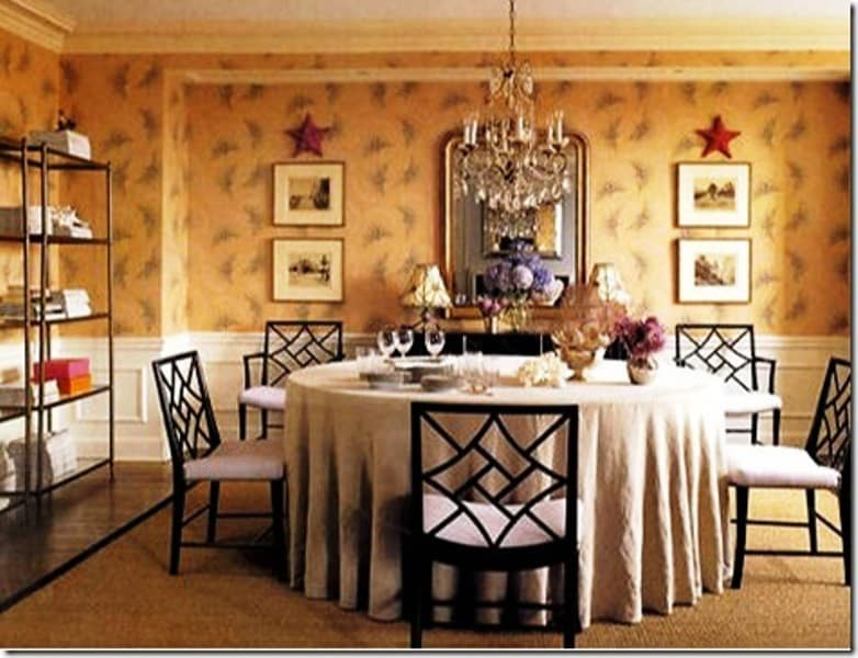 Dining rooms architecture decorating ideas for Decorate my dining room