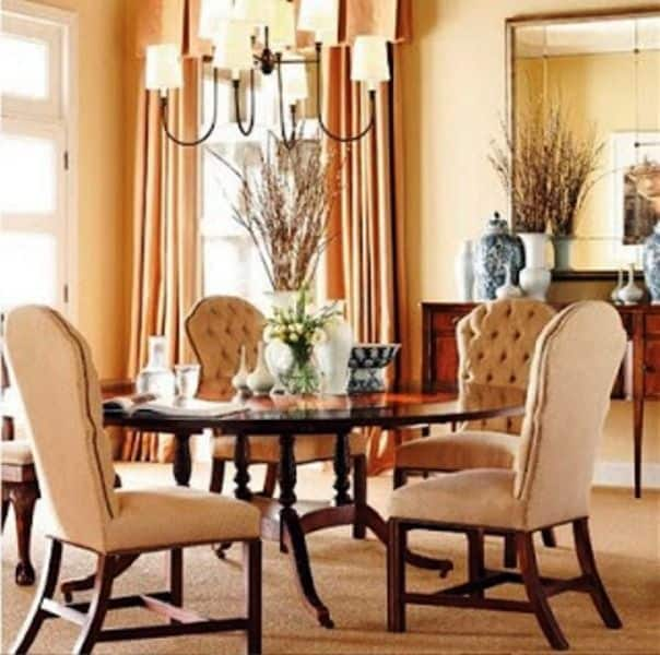 Hickorychair d dining room wall 422 decor part i for Dining room wall art images