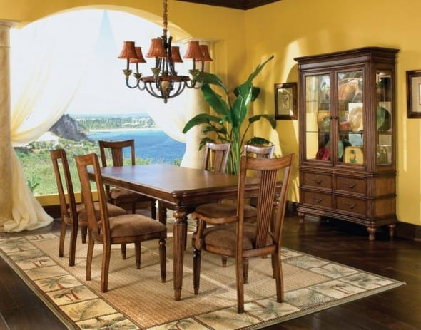 Dining room decorating architecture decorating ideas for Dining room rug ideas