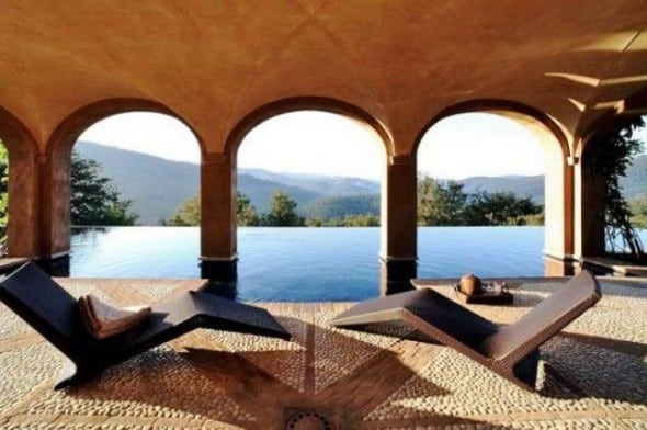 Luxury Italian Villa-pool with mountain view