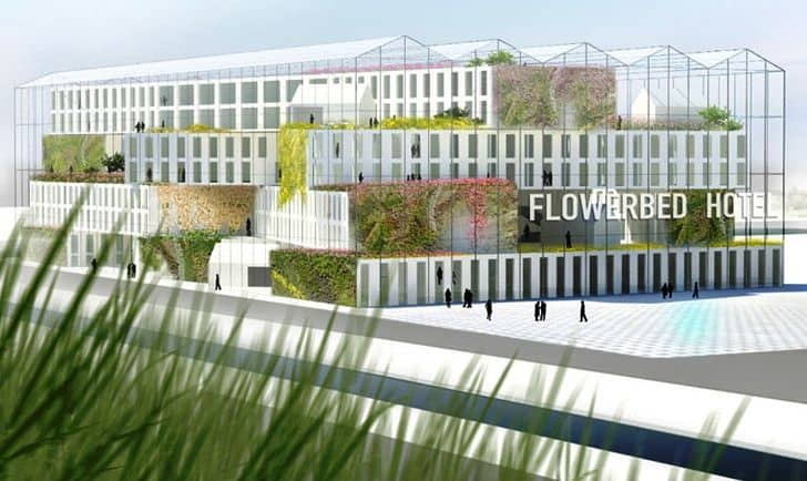 MVRDV: Flower Bed Hotel