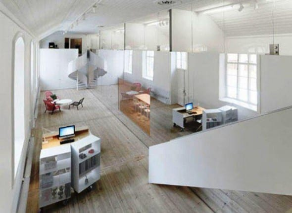 Minimalist Office Interior Design