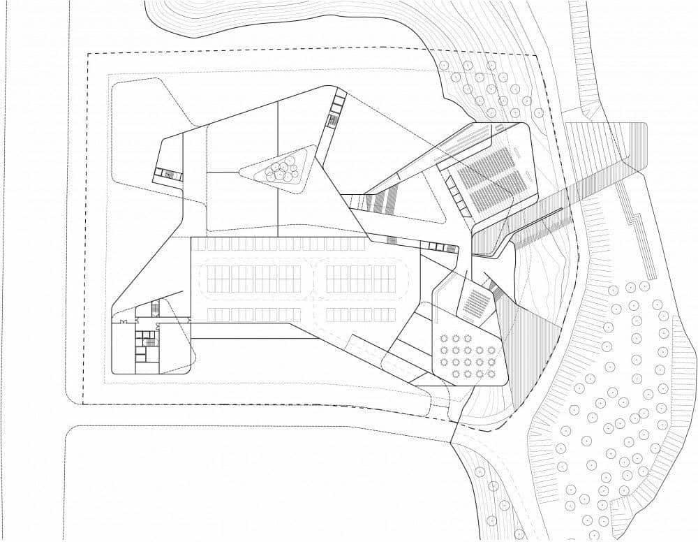 Ordos Museum plan Architecture Decorating Ideas
