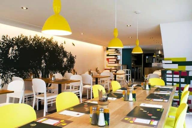 Restaurant Interior Design Ideas small restaurant design ideas in minimalist interior kaper design Modern Restaurant Interior Design