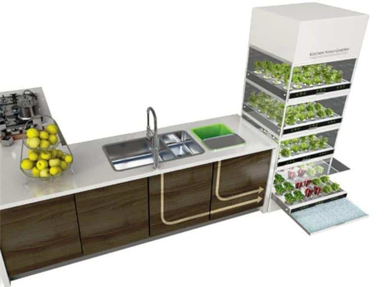 Kitchen Nano Garden _b578ll_Design