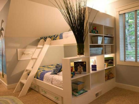 Unique Space Saving Kid's Bunk Beds Ideas