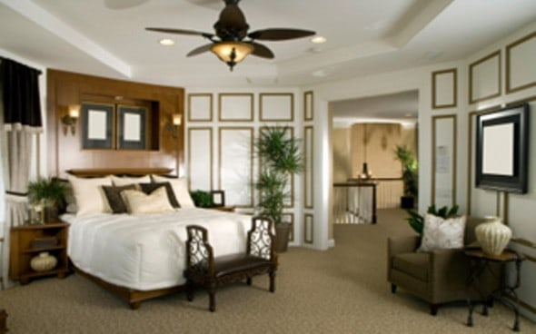 decorate bedroom with british colonial style
