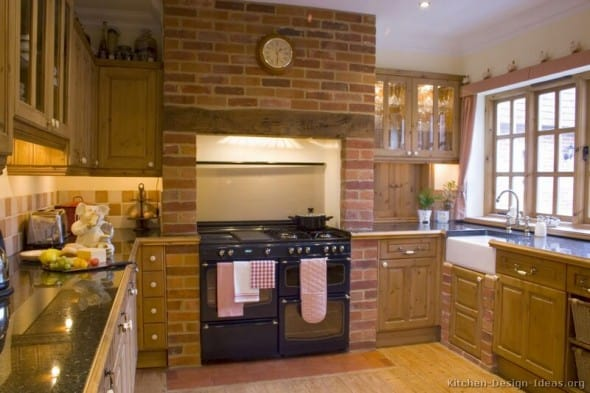 Country Kitchen Ideas Mixing Of Modern And Traditional