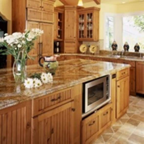 Country Kitchen Ideas : Mixing of Modern and Traditional Style