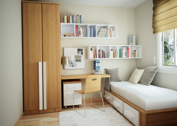How to Decorate Small Bedroom Designs