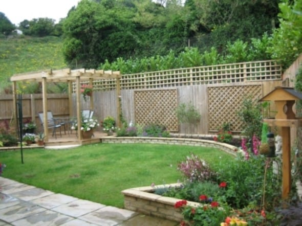 Garden design for your home architecture decorating ideas for Small house garden design