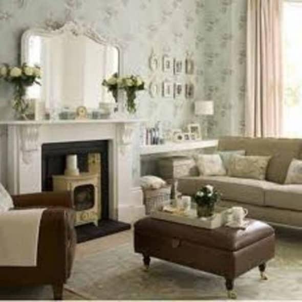 white vintage room