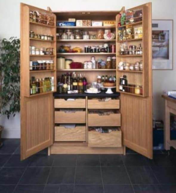 How To Design Kitchen Pantry Architecture Decorating Ideas
